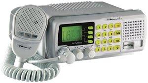 Midland Marine RG2W 25-Watt Fixed-Mount VHF Marine Radio (White)
