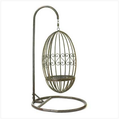 Distressed Iron Garden Wing