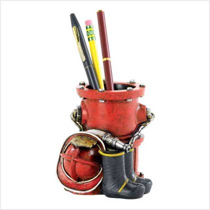Fire Department Pen Holder