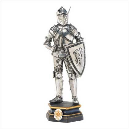 Standing Knight Figurine