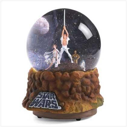 A New Hope Commemorative Waterglobe Star wars