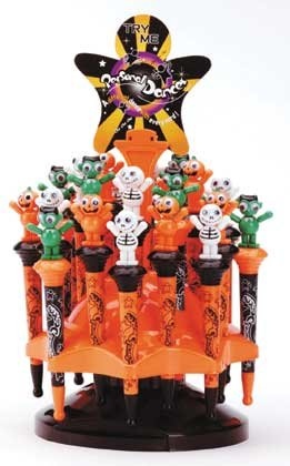 2 Dz Halloween Dance Pen Display