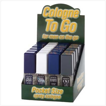 1/2 OZ COLOGNE FOR MEN DISPLAY (2 Dozen)