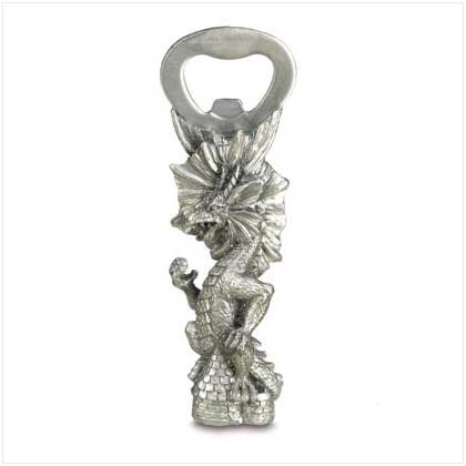 Pewter Dragon Bottle Opener