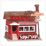 WOOD DINER BIRDHOUSE