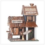 WOOD BAIT SHOP BIRDHOUSE