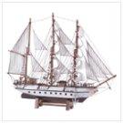 Wood Model Schooner