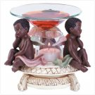 Alab Black Cherubs Oil Warmer