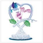 SPUN GLASS HUMMINGBIRD MOM