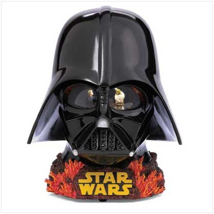 Darth Vader Dual Reveal Waterglobe