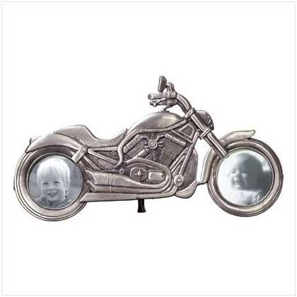 Motorcycle Frame - Pewter
