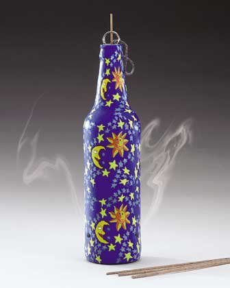 Fimo Celestial Incense Bottle