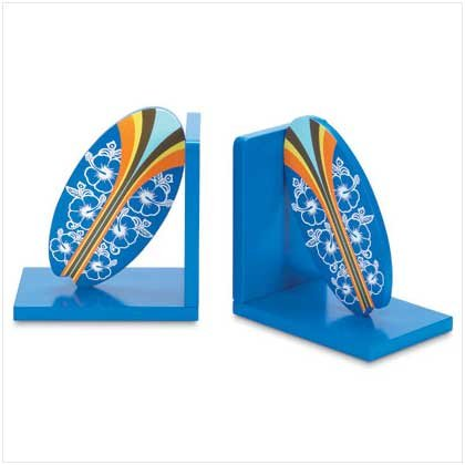 Surfboard Bookends