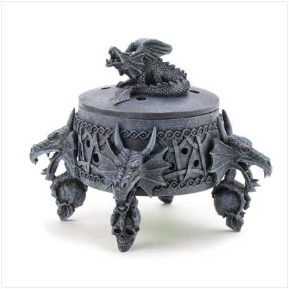 Dragon Incense Burner Box
