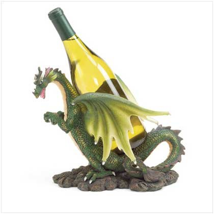 Green Dragon Wine Bottle Holder
