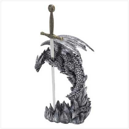 Sword Letter Opener/Dragon Base