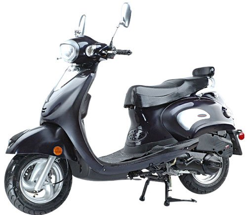 The 'Sicily' 150cc 4-Stroke Scooter (Up to 52mph)  FREE SHIPPING