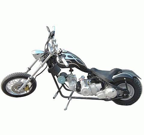 110cc - 4 Stroke Classic Chopper - Up to 52 MPH