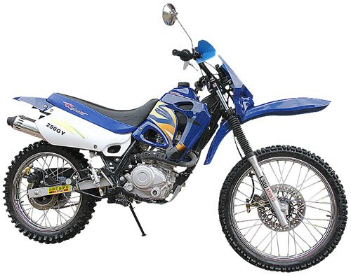 250cc Roketa Dirt Devil (Up to 62mph) F/S