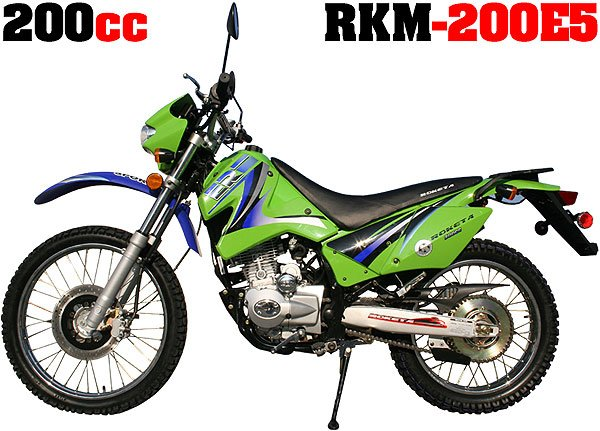 200cc Roketa Dirt Devil (Up to 57mph)