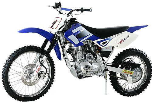 200cc - 4 Stroke Dirt Bike - Up to 58 MPH