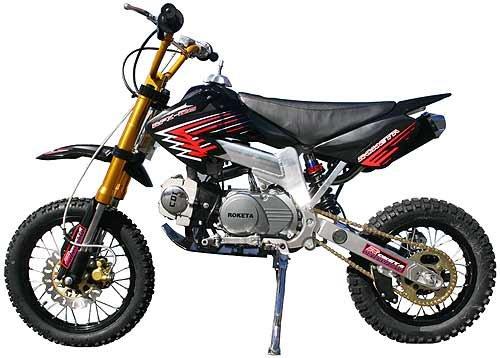125cc - 4 Stroke Trail Bike - Up to 32 MPH