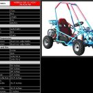 72cc - 1 Seat Go Cart - Up to 23 MPH F/S
