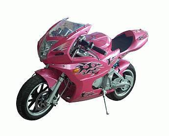 110cc - 4 Stroke Super Bike - Up to 49 MPH
