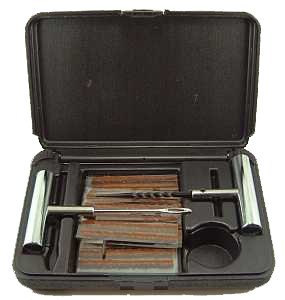 Case of 4 - 34pc Tire Repair Kits