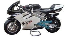 Pallet of 12 - 2 Stroke 47cc Super Bikes wholesale
