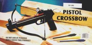 Case of 6 - 50 lb Pistol Crossbows w/ Arrows