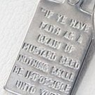 Mustard Seed Verse Jewelry Tag Charm