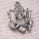 United States Army Charm Silver