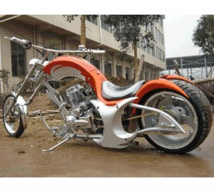 200cc Mobster Chopper Street Legal