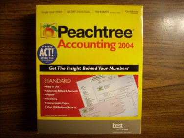 Peachtree Accounting 2004 (Windows)