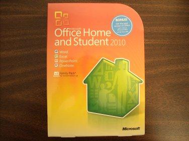 Microsoft Office 2010 Home & Student 3-Users (Windows)
