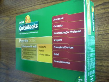 Quickbooks Premier Contractor 2008 (Windows)