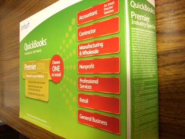 Quickbooks Premier Manufacturing & Wholesale 2010 (Windows)