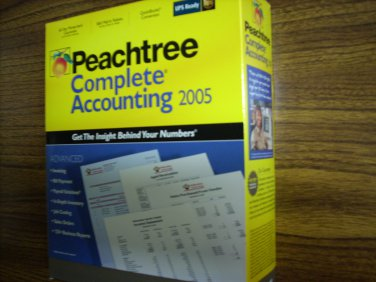 Peachtree Complete Accounting 2005 (Windows)