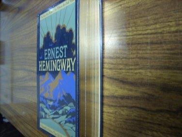 Ernest Hemingway: Four Novels Leatherbound