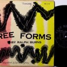 "Burns, Ralph  - The Free Forms Album - 10"" Vinyl LP Record - Clef Jazz - Lee Konitz"