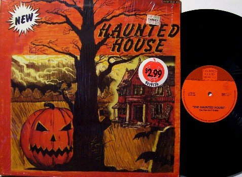Haunted House - Vinyl LP Record - Halloween - Children Kids