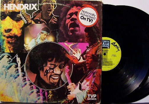 Hendrix, Jimi - Hendrix - 2 LP Vinyl Record Set - TV Compilation - Rock