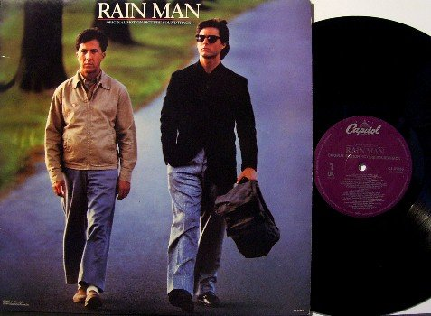 Rain Man - Soundtrack - Vinyl LP Record - Rock and Jazz Music - Etta James , Neville etc - OST