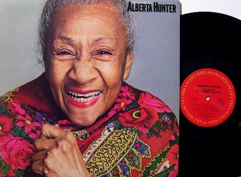 Hunter, Alberta - The Glory Of - Vinyl LP Record - Blues / Jazz