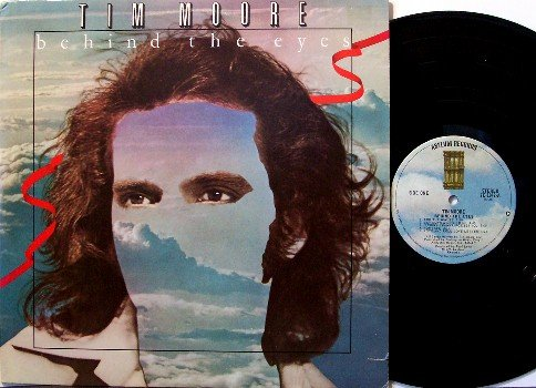 Moore, Tim - Behind The Eyes - Vinyl LP Record - Unusual Acid Art Cover - Rock