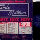 Tamla Is Hot Hot Hot - Vinyl LP Record- Original German Tamla Promo with Alternate Cover - Soul R&B