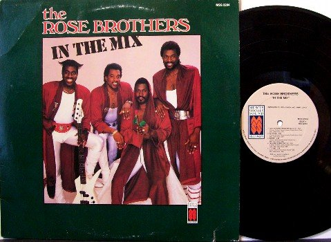 Rose Brothers - In The Mix - Vinyl LP Record - Funk Soul Breaks - 1987 Muscle Shoals Sound Label