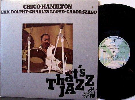 Hamilton, Chico - That's Jazz - Vinyl LP Record - Canada Pressing - Eric Dolphy , Charles Lloyd