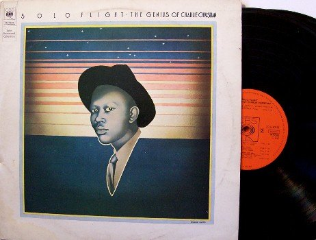 Christian, Charlie - Solo Flight Genius Of - 2 Vinyl LP Record Set - Holland Pressing - Jazz
